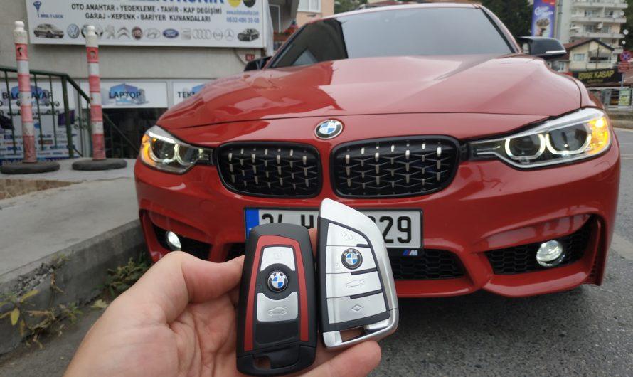 BMW F30 YEDEK ANAHTAR UYGULAMASI