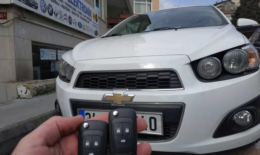 Chevrolet Aveo Yedek Anahtar Uygulaması
