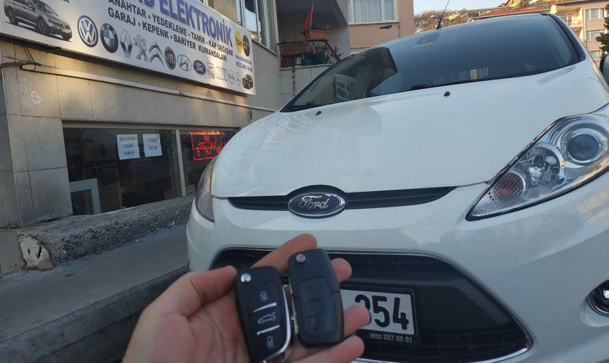 Ford Fiesta Yedek Anahtar Uygulaması