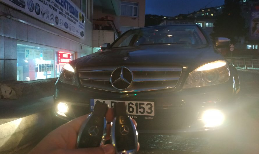 Mercedes C220 Yedek Anahtar Uygulaması