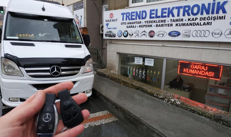 Mercedes Sprinter Yedek Anahtar Uygulaması
