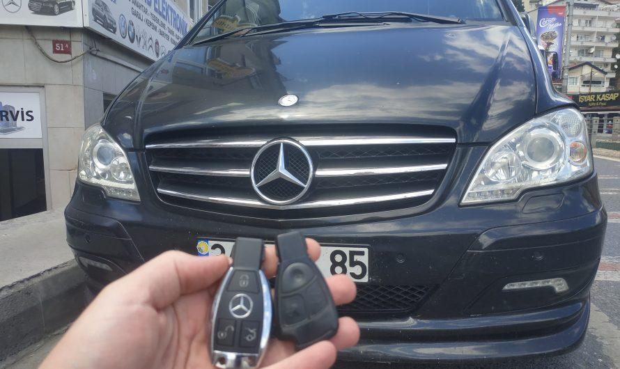 Mercedes Viano Yedek Anahtarı
