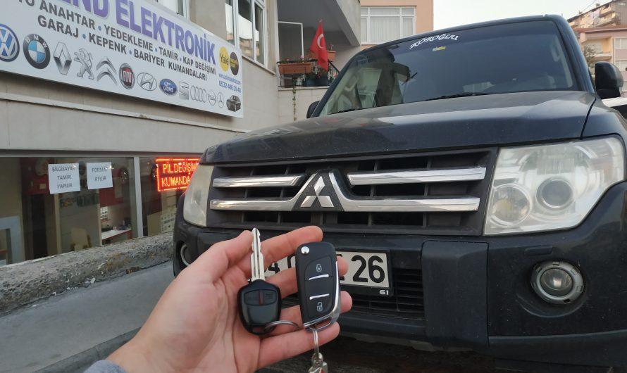 Mitsubishi Pajero Yedek Anahtar Uygulaması