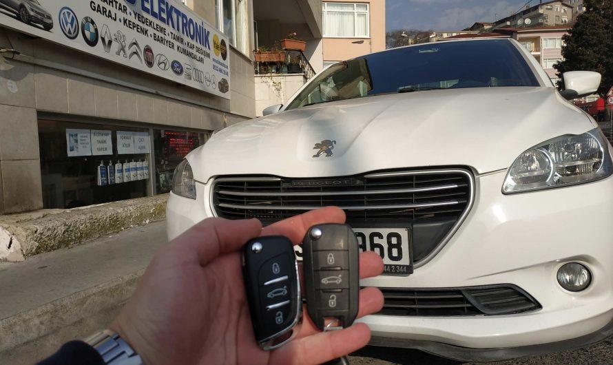 Peugeot 301 Yedek Anahtar Uygulaması