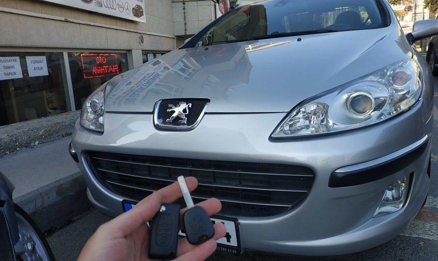 Peugeot 407 Yedek Anahtar Uygulaması