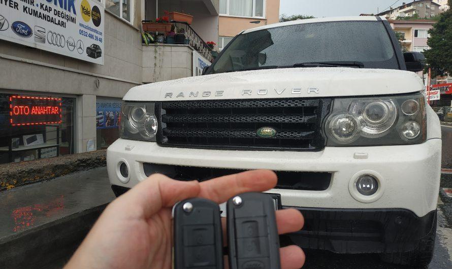 Range Rover Sport Yedek Anahtar Uygulaması