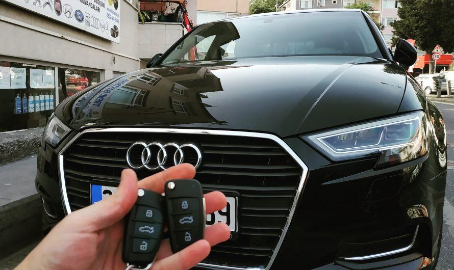 Audi A3 2018 Keyless Anahtar