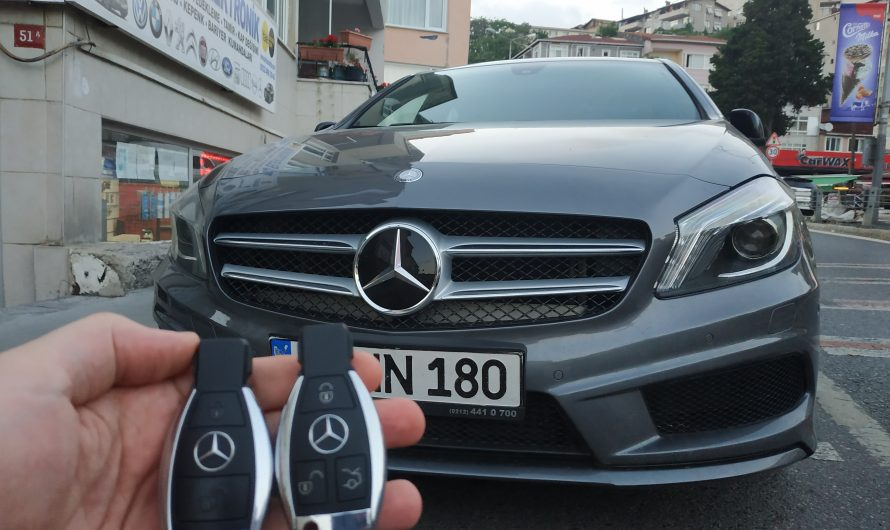Mercedes A180 Amg Anahtarı