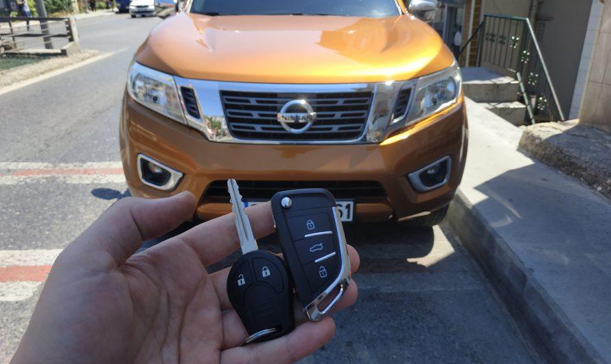 Nissan Navara Sustalı Anahtar
