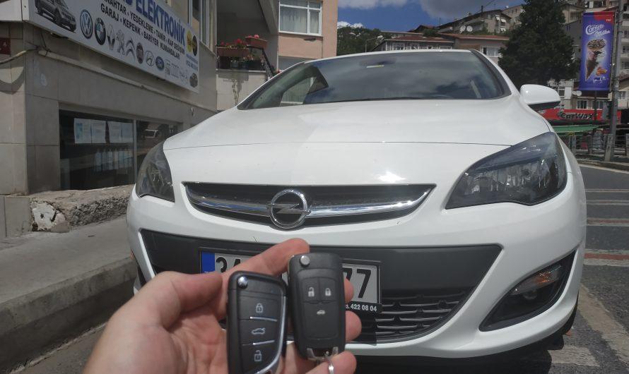 Opel Astra Yeni Nesil Anahtar