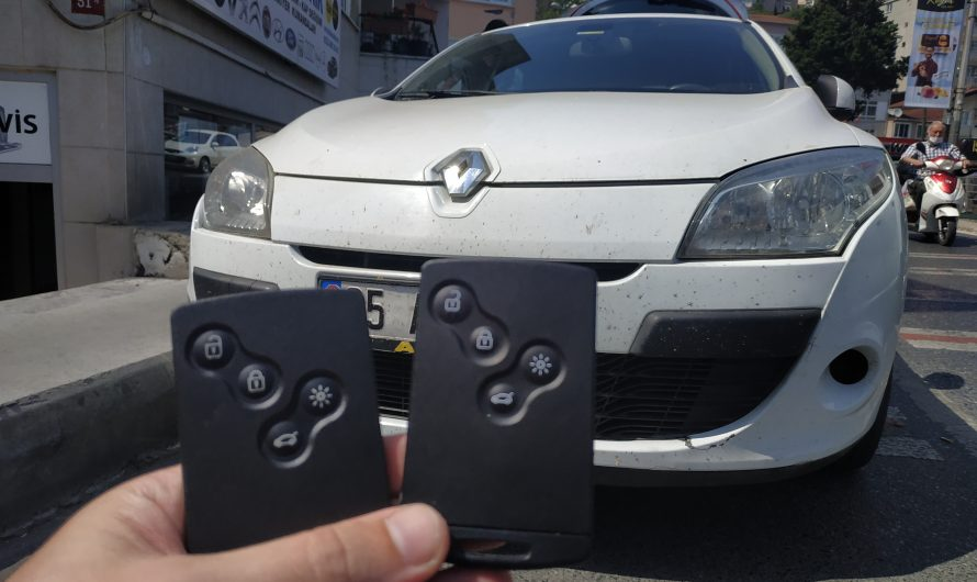 Renault Megane 3 Anahtarı